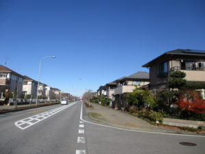 野田市みずきの街並