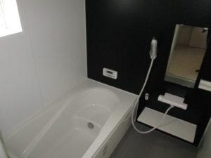 1坪タイプの浴室