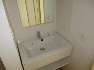 2階洗面化粧台